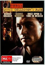 Donnie Brasco / Once Upon A Time In Mexico / Secret Window (DVD ) NEW SEALED