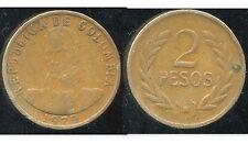 COLOMBIE 2 pesos 1979  ( bis )
