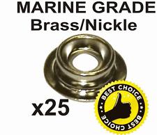 25 X  boat cover press snap stud base marine popper base pop fitting fastener