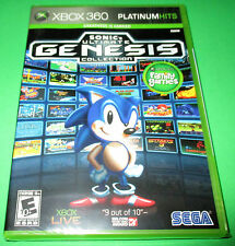 Sonic's Ultimate Genesis Collection Xbox 360  *Factory Sealed!  *Free Shipping!