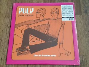 PULP - PARTY CLOWNS LIVE IN LONDON 1991 180g LP NEW SEALED