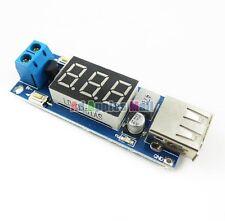 USB Charger DC-DC Step-down Converter Voltmeter Module DC 4.5-40V To 5V 2A NEW