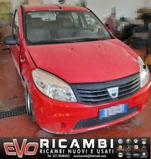 Tutti i ricambi per Dacia Sandero 1.4 Benzina GPL (Leggere bene il testo)