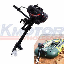 New Heavy Duty Outboard Motor Boat Engine 2 Stroke 3.5HP W/Water Cooling System