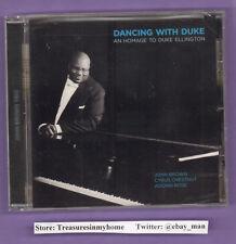 John Brown Trio Dancing With Duke An Homage To Duke Ellington Music CD 2011 New