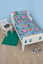 Peppa Pig George 4 PC Junior Toddler Cot Bed Duvet Quilt Pillow Set Bedding
