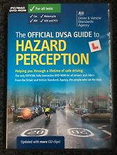 The Official DVSA Guide to Hazard Perception DVD For PC and MAC nearly new