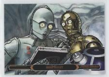 2015 Star Wars Illustrated: The Empire Strikes Back Bronze Droids Identify 0n8