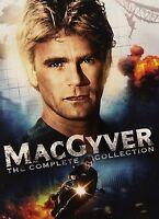 Macgyver Complete Collection Series Season 1 2 3 4 5 6 7 DVD Set TV Show Episode