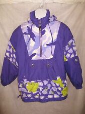 Phenix Ski Snow Womens Jacket 1/4 Zip Pullover Purple Size 8