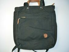 Fjallraven Totepack no.1 women bag and backpack in black, large size, GC with lo