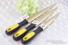 3pcs Violin Guitar Tool Wood Files Strong Steel Luthier Tools