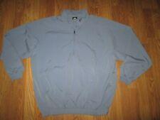 Mens Footjoy Fj quarter zip pullover windbreaker shirt sz L lg