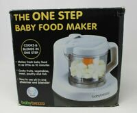 Baby Brezza One Step Baby Food Maker Steam and Blend White TESTED WORKS, Clean!
