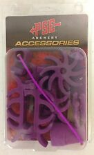 NEW PSE ARCHERY PURPLE COLORED DAMPNER KIT FOR PSE BOW