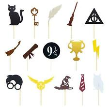 Harry Potter Cupcake toppers Decoration 15pcs or 30pcs Harry Potter Cake Topper