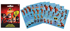 111 Disney Pixar Incredibles 2  Stickers Party Favors Teacher Supply