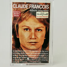 Claude François – Album Souvenir - Cassette Audio - Tape - Double Durée - 1987