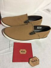 Woolrich Brush Brown Canvas Dock Shoes Men's Size 8.5 NEW