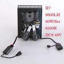V16 H7 80W 6000K 9600LM Cree Car LED Headlight Bulbs Turbo Conversion Kit Lamp