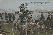 CHILE LAGO DE LLANQUIHUE DESDE EL CAMINO A RIO NEGRO C.D. FRUTILLAR ED JUNGINGER