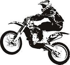 Motorcycle Wall Decal Vinyl Sticker Decals Art Decor wall decal  motocross bike