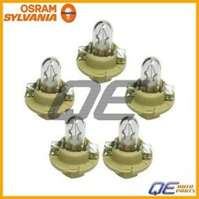 Volvo 850 93-97 Set of 5 Osram-Sylvania Instrument Panel Light Bulbs 12V-1.5W