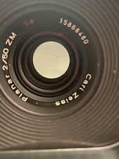 Carl Zeiss Planar T* 50mm F/2 ZM (for Leica M mount) Silver Great Lens