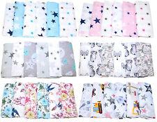 Stoffwindel Spucktücher 6 oder 12 Stück Baby Baumwollwindel Mullwindel Spucktuch