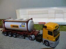 1/87 Wiking MB Actros Bertschi Schweiz CH Tankcontainer-Sattelzug 0536 02