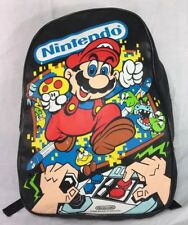 VTG Nintendo Backpack 1988 Super Mario 80's Original NES Bag Video Game