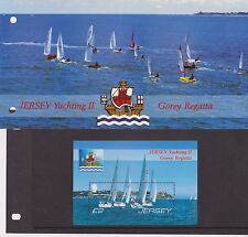 Presentazione In Jersey Confezione Da 2007 YACHTING II Gorey Regatta TIMBRO foglio in miniatura