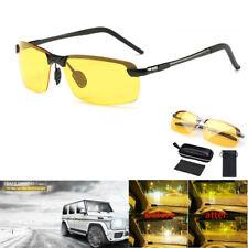 Night Driving Glasses Anti Glare Vision HD Prevention Yellow Driver Sunglasses