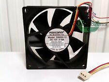 Genuine Foxconn D80SH-12 CASE FAN 80 mm x 25 mm 0.18 A 3pin