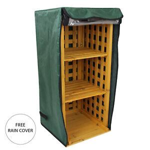 Firewood Log Storage Rack Outdoor Garden Shed Wooden Shed Holder Shelf Stand