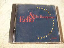 Echo & The Bunnymen Bedbugs and Ballyhoo - 2 Track Cd Single - Rare Promo !