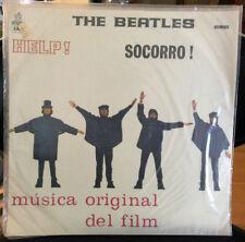 "SUPER RARE BEATLES ""HELP/SOCORRO"" URUGUAY EMI/ODEON LP STILL SEALED!"