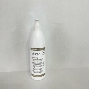 Murad Soothing Massage Cream Clinical Formula, Pro Size 16.9 oz with Pump