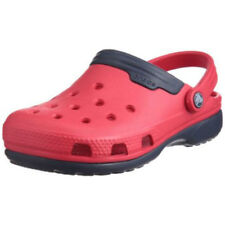 Scarpe Zoccoli rosso sintetico per bambini dai 2 ai 16 anni