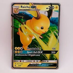 Raichu GX SM213 - Black Star Promo Hidden Fates - Pokemon - NM