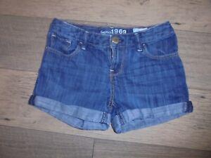 Gap denim cuffed shorts girls 10 Back 2 School