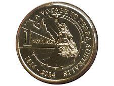 "2014 Australian $1 (Terra Australis  ""B"" Brisbane Privy Mark Uncirculated Coin"