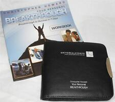 CHRISTOPHER HOWARD YOUR PERSONAL BREAKTHROUGH 7 CD & 1 DVD SET PLUS WORKBOOK NEW