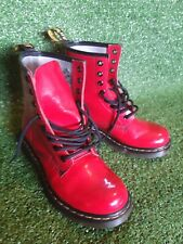 Red Dr Martens Boots 8 Hole Size UK 5 / EU 38 / US 7 **VERY GOOD CONDITION**