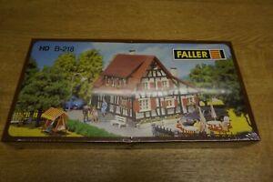 Bausatz Fachwerkhaus HO Faller B-218