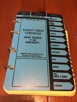 RARE McDonnell Aircraft F-4E Flight Crew Checklist - 1990