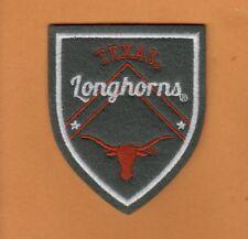 TEXAS LONGHORNS 3 inch SHIELD CREST LOGO PATCH JACKET SHIRT SWEATS UNUSED STOCK