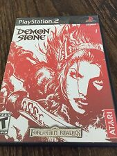 Demon Stone Sony PlayStation 2 PS2 Complete Works PG1