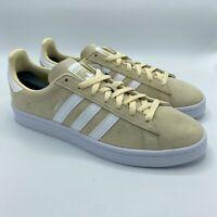 Adidas Campus Mist Sun White Nubuck Men's Shoes DB0546, Size 9.5