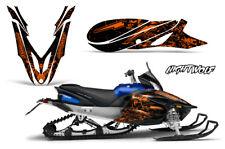 Yamaha APEX Decal Wrap Graphic Sticker Kit Sled Snowmobile 2012-2016 NIGHTWOLF O